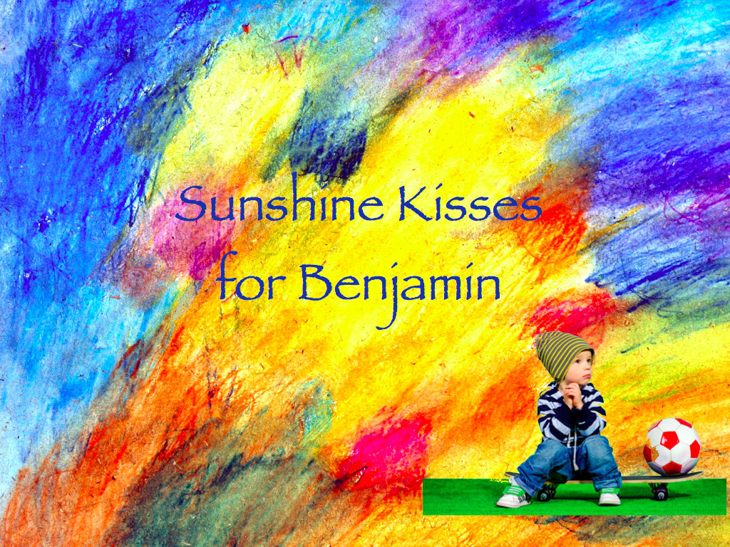 Sunshine Kisses Front Cover.001