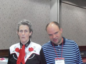 Trent and Temple Grandin